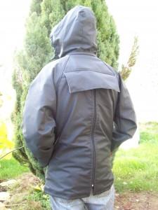 veste ll Syl. dos (noire)