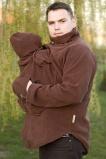 veste polaire de portage pour homme couleur marron